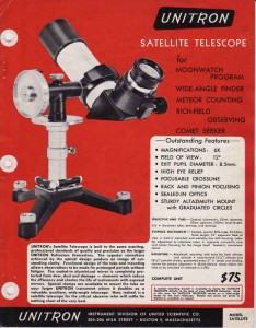 _Unitron Satellite Scope Ad