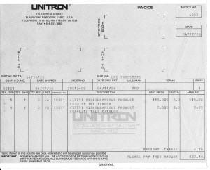 Unitron Inv0001